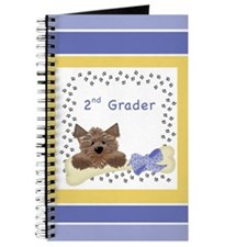 Blue 2nd Grader Note Book Journal