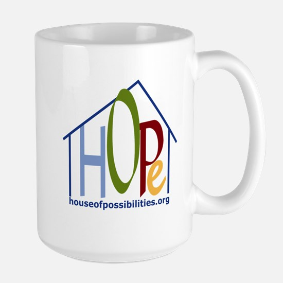 HOPe House Color Large Mug