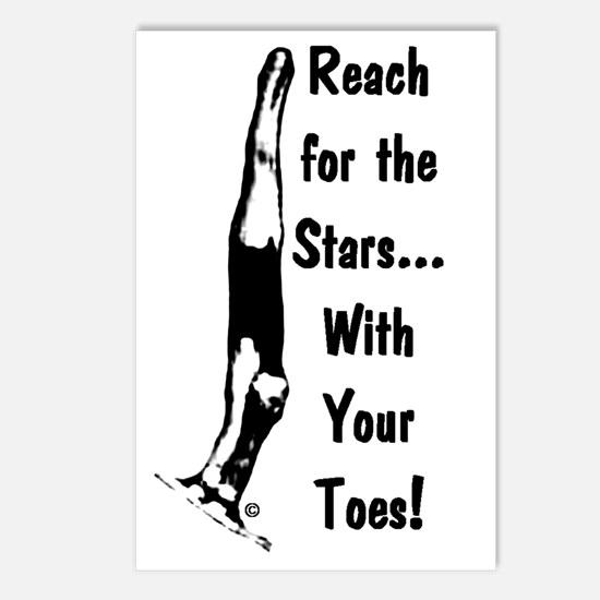 Gymnastics Postcards (8) - Stars