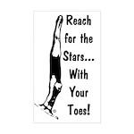 Gymnastics Sticker - Stars