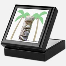 Tiki & Palm Trees Keepsake Box