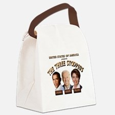 thethreestoopids.png Canvas Lunch Bag