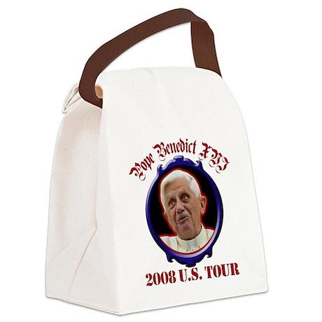 popebenedictustour08.png Canvas Lunch Bag