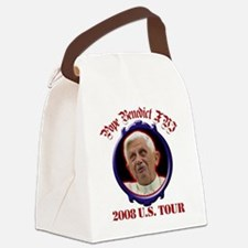popebenedictustour08.png Canvas Lunch Bag