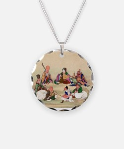 Seven gods of good luck - Anon - 1878 Necklace