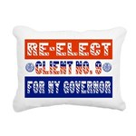 reelectclientno9gov4.png Rectangular Canvas Pillow