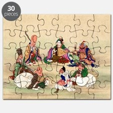 Seven gods of good luck - Anon - 1878 Puzzle