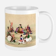 Seven gods of good luck - Anon - 1878 Mugs