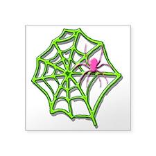 """Arachneon1 Square Sticker 3"""" x 3"""""""