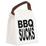 bbqsucks.png Canvas Lunch Bag