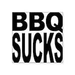 bbqsucks.png Square Sticker 3