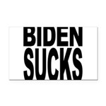 bidensucksblk.png Rectangle Car Magnet