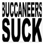buccaneerssuck.png Square Car Magnet 3