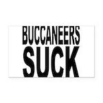 buccaneerssuck.png Rectangle Car Magnet