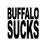 buffalosucks.png Square Sticker 3