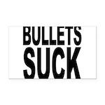 bulletssuck.png Rectangle Car Magnet