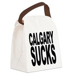 calgarysucks.png Canvas Lunch Bag