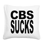 cbssucks.png Square Canvas Pillow