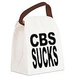 cbssucks.png Canvas Lunch Bag