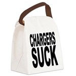 chargerssuck.png Canvas Lunch Bag