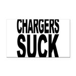 chargerssuck.png Rectangle Car Magnet