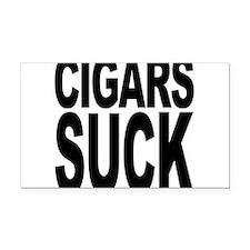 cigarssuck.png Rectangle Car Magnet