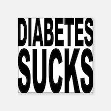 "diabetessucks.png Square Sticker 3"" x 3"""