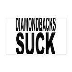 diamondbackssuck.png Rectangle Car Magnet