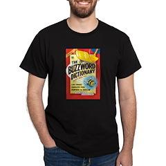 Buzzword Dictionary Black T-Shirt