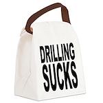 drillingsucks.png Canvas Lunch Bag