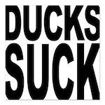 duckssuck.png Square Car Magnet 3