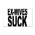 exwivessuck.png Rectangle Car Magnet