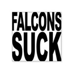 falconssuck.png Square Sticker 3