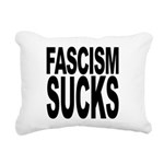 fascismsucks.png Rectangular Canvas Pillow