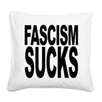 fascismsucks.png Square Canvas Pillow