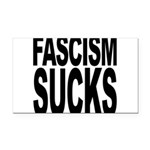 fascismsucks.png Rectangle Car Magnet