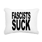 fascistssuck.png Rectangular Canvas Pillow
