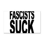fascistssuck.png Rectangle Car Magnet