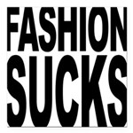 fashionsucks.png Square Car Magnet 3