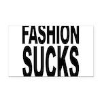 fashionsucks.png Rectangle Car Magnet