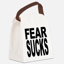 fearsucks.png Canvas Lunch Bag