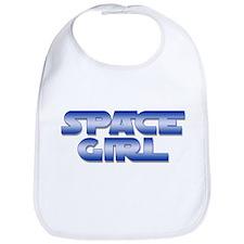 Space Girl Bib