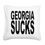 georgiasucks.png Square Canvas Pillow