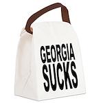 georgiasucks.png Canvas Lunch Bag