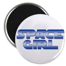 Space Girl Magnet