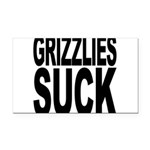 grizzliessuck.png Rectangle Car Magnet