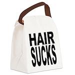hairsucks.png Canvas Lunch Bag