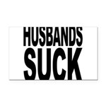 husbandssuck.png Rectangle Car Magnet