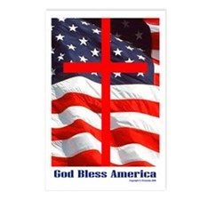 """""""God Bless America"""" Postcards (Package of 8)"""