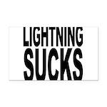 lightningsucks.png Rectangle Car Magnet